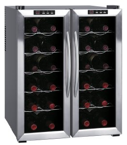 SPT WC-2461H Double-Door Dual-Zone Thermo-Electric Wine Cooler